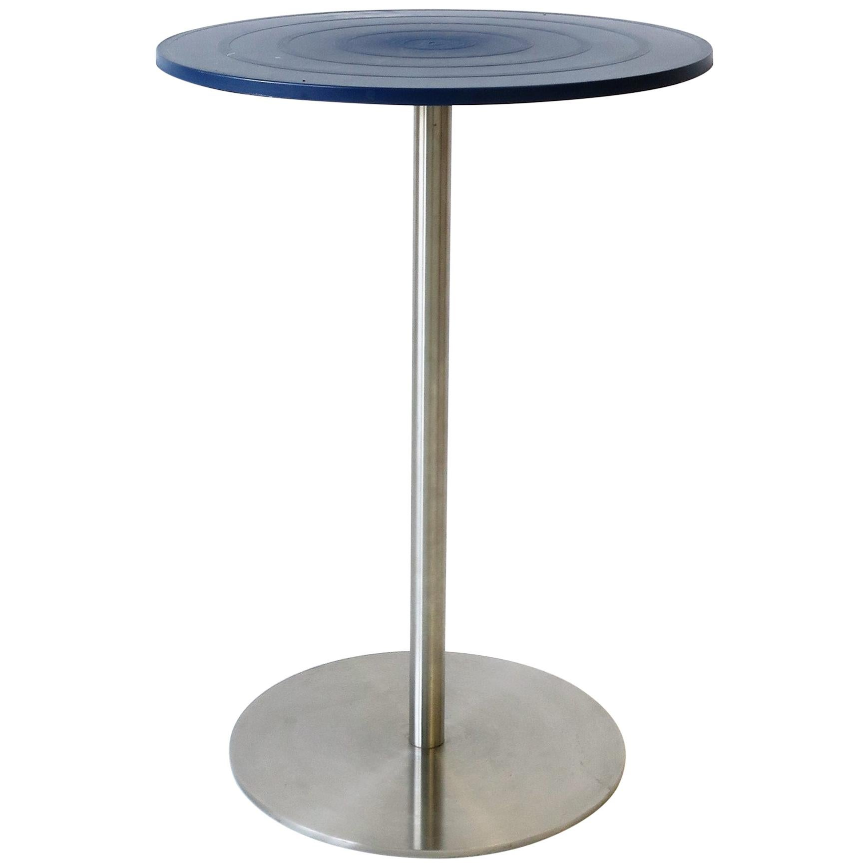 Italian Alessi Postmodern Side Table by Designer Jasper Morrison, 1998
