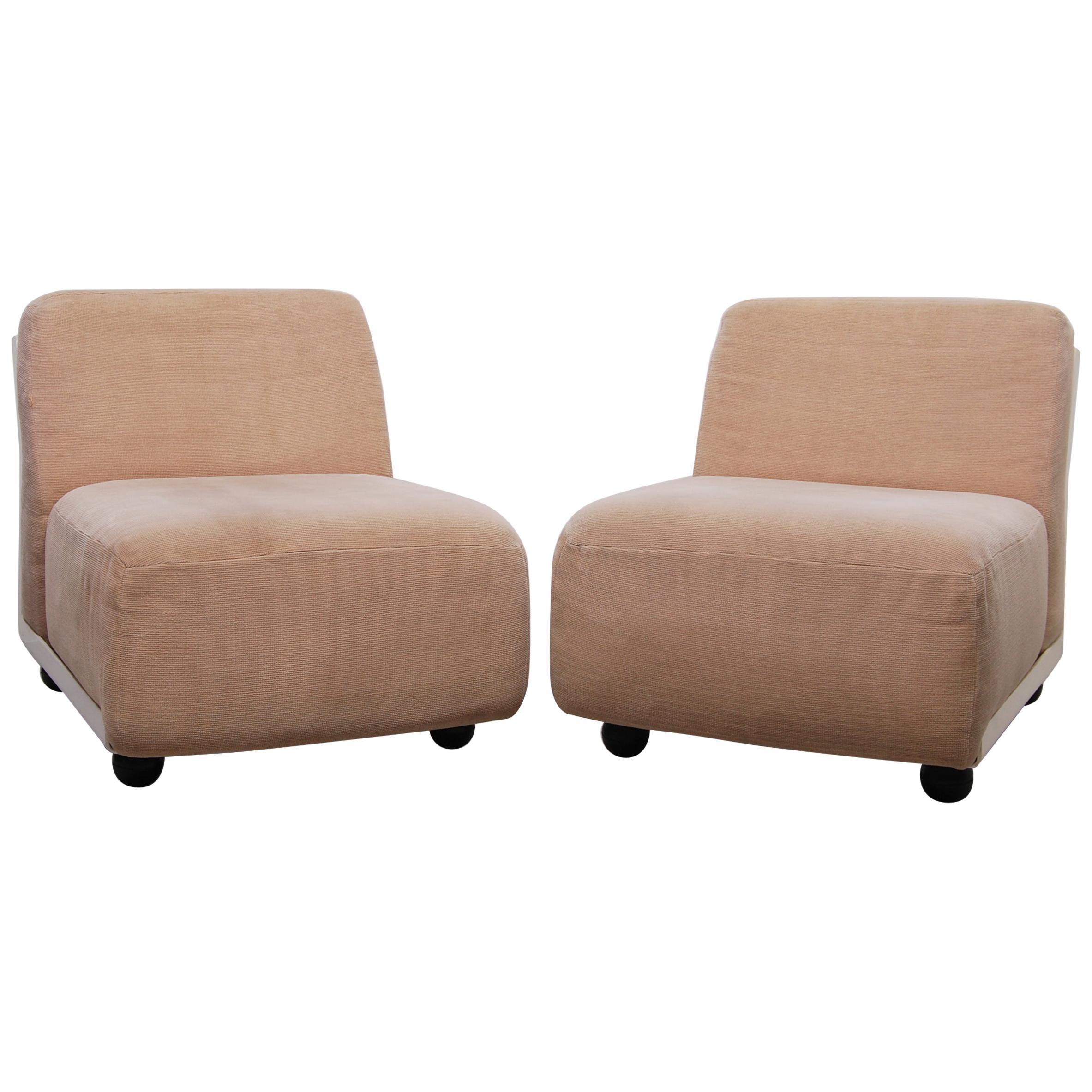 Italian Amanta 24 Chairs by Mario Bellini for B&B, 1970s