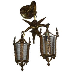 Italian Angel Sconce