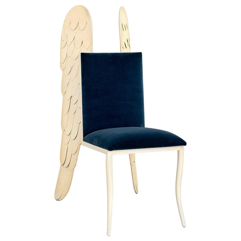 "Italian ""Angel"" Sculpture Chair For Sale"