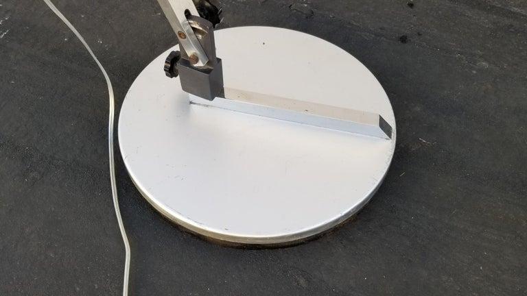 Metal Italian Arc Floor Lamp by Goffredo Reggiani For Sale