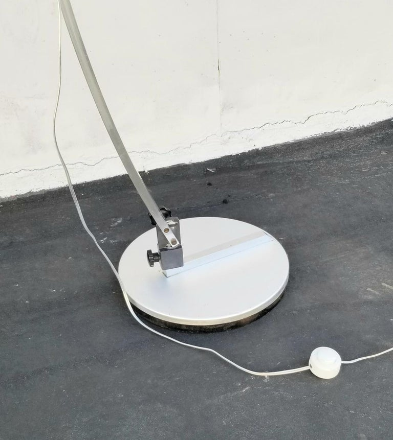 Italian Arc Floor Lamp by Goffredo Reggiani For Sale 1