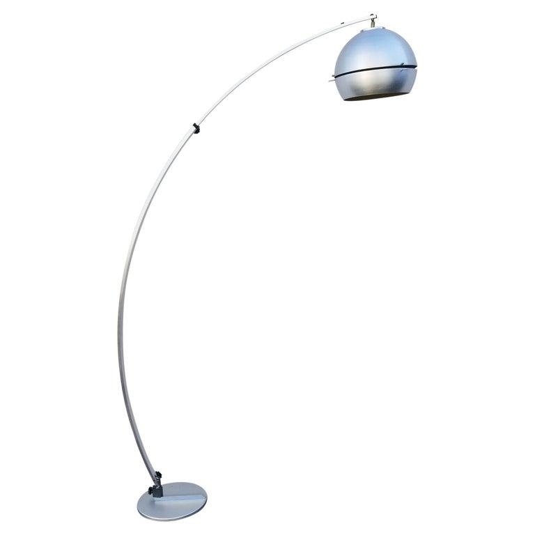 Italian Arc Floor Lamp by Goffredo Reggiani For Sale