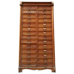 Italian Archive Dresser from 1940s