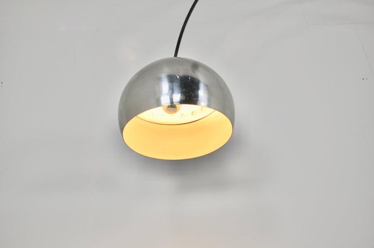 Italian Arco Floor Lamp by Achille Castiglioni & Pier Giacomo for Flos, 1960s For Sale 7