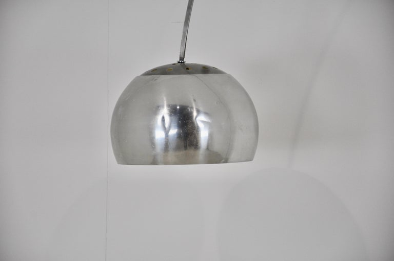 Mid-20th Century Italian Arco Floor Lamp by Achille Castiglioni & Pier Giacomo for Flos, 1960s For Sale