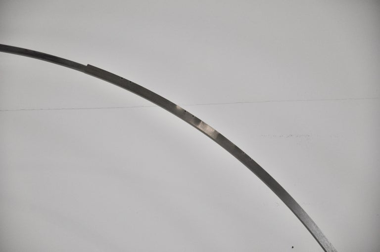 Metal Italian Arco Floor Lamp by Achille Castiglioni & Pier Giacomo for Flos, 1960s For Sale