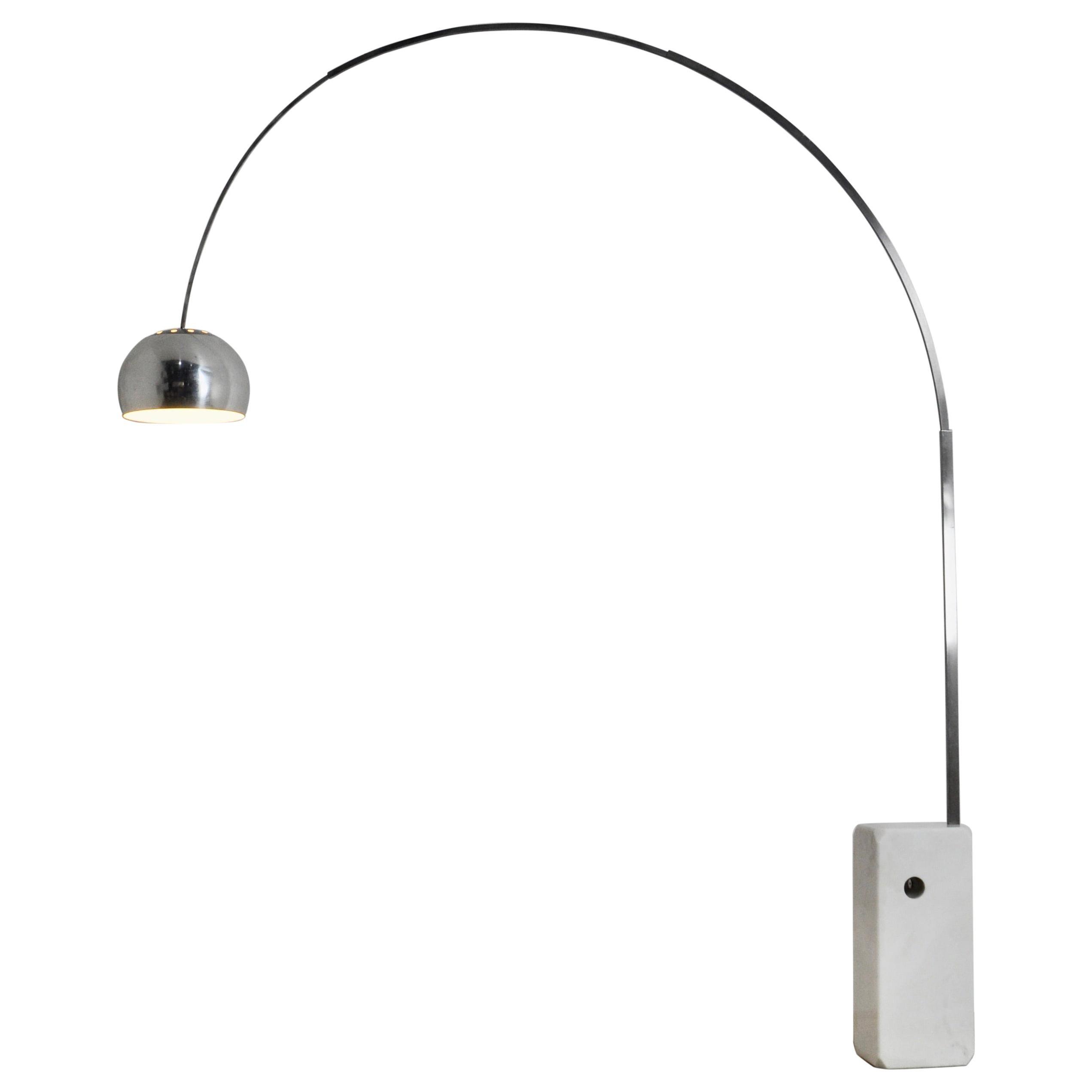 Italian Arco Floor Lamp by Achille Castiglioni & Pier Giacomo for Flos, 1960s