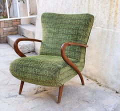 Italian Arm Chair Attributed to Paolo Buffa