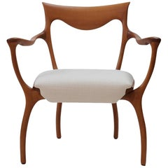 Italian Armchair by Roberto Lazzeroni for Ceccotti