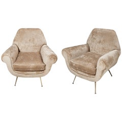 Italian Armchairs by Gigi Radice from the 1960s