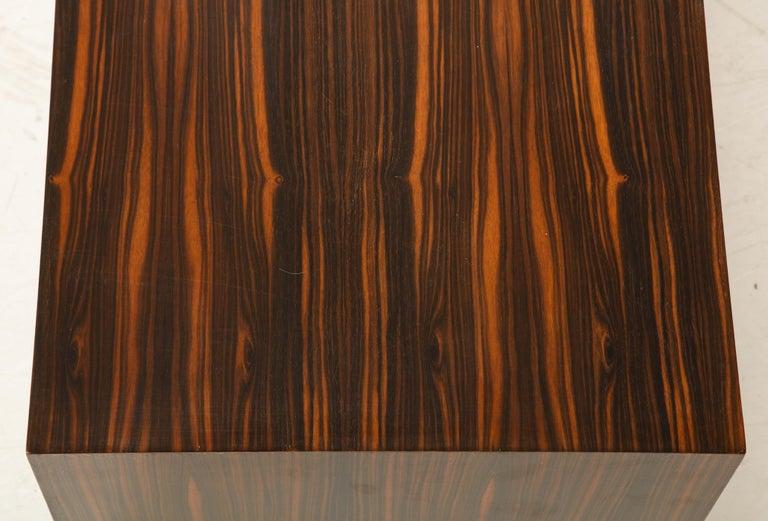 Italian Art Deco 1940s Macassar Ebony Coffee Table or Bench 5