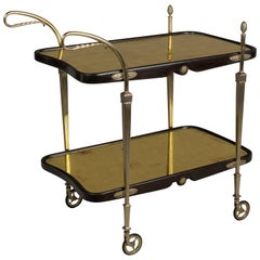 Italian Art Deco Bar Cart