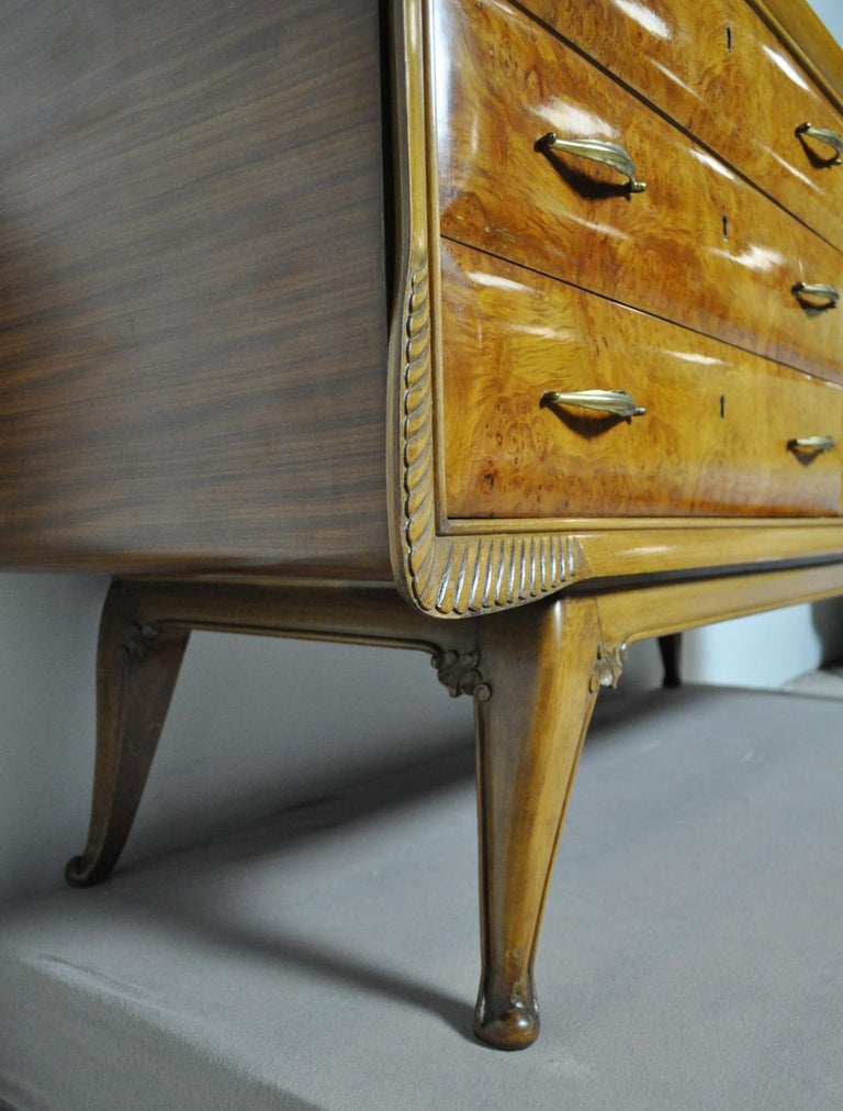 Italian Art Deco Chest of Drawers, 1930s For Sale 6