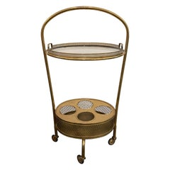Italian Art Deco Drinks Caddy/ Bar Cart