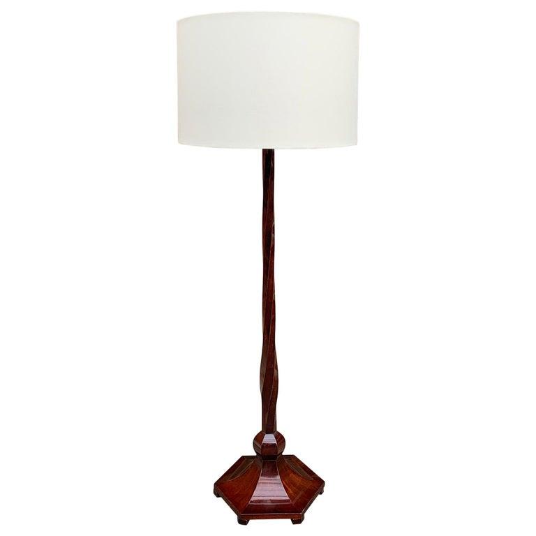 Italian Art Deco Floor Lamp For Sale