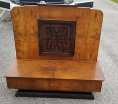 Italian Art Deco Hall Bench