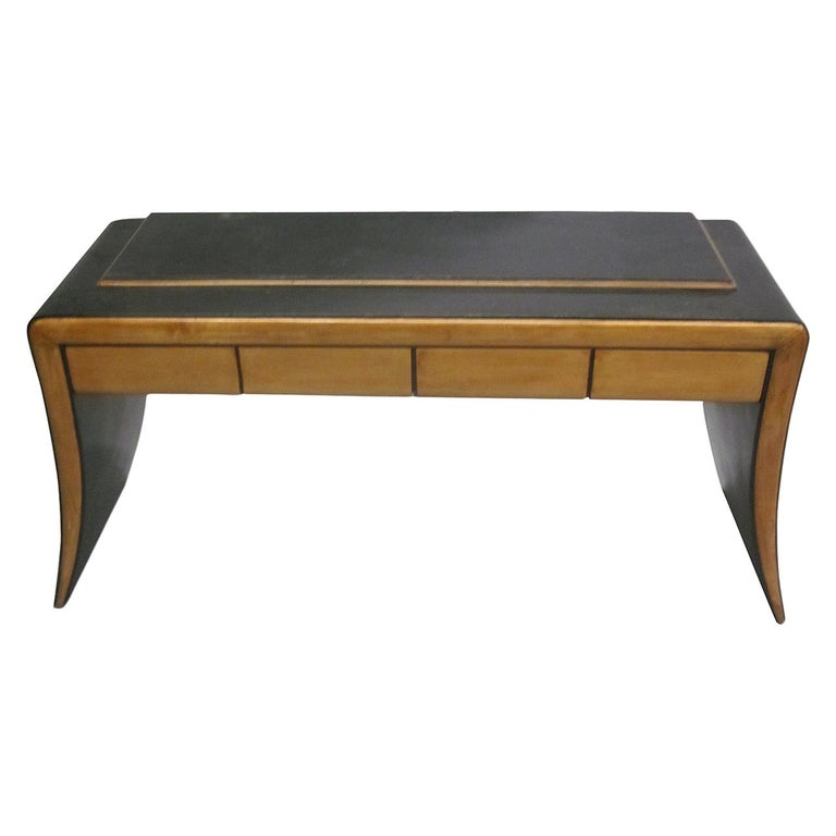 Italian Art Deco / Modern Neoclassical Vanity / Sofa Table by Paolo Buffa, 1930 For Sale
