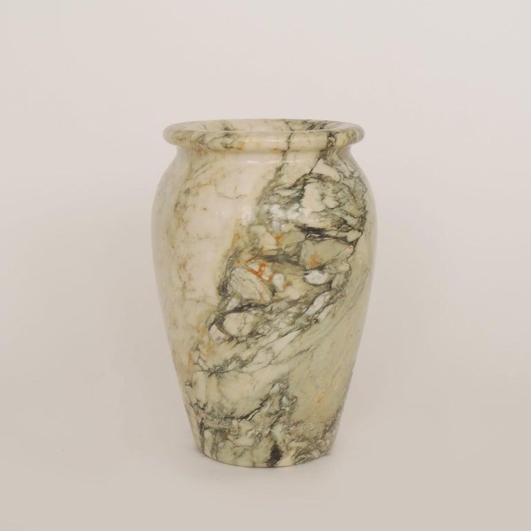 Italian Art Deco Monumental Marble Vase, Italy, 1920s For Sale 2