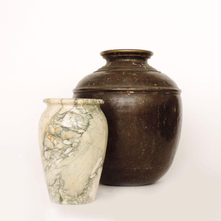 Italian Art Deco Monumental Marble Vase, Italy, 1920s For Sale 4