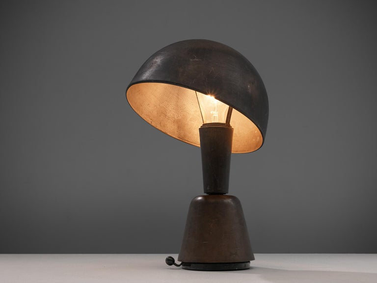 Magilux, table lamp, metal, Italy, 1930s
