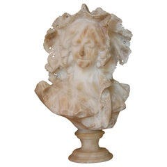 Italian Art Nouveau Marble Sculpture