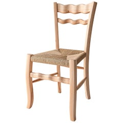 "Italian Ashwood Chair ""A signurina - Nuda 02"" by MYOP"