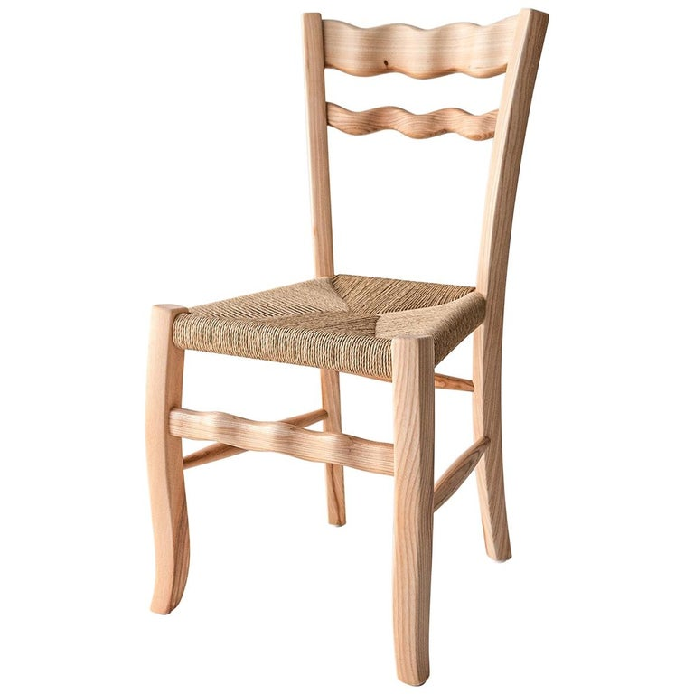 "Italian Ashwood Chair ""A signurina - Nuda 02"" by MYOP For Sale"