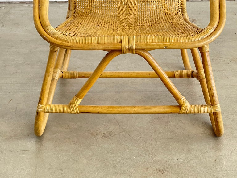 Italian Bamboo Chairs For Sale 6