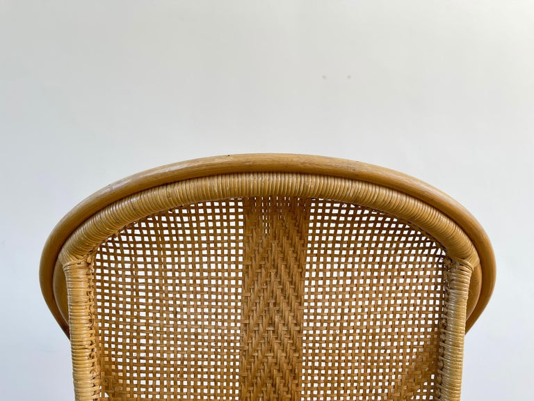 Italian Bamboo Chairs For Sale 8