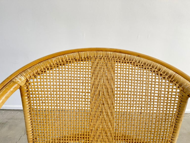 Italian Bamboo Chairs For Sale 9