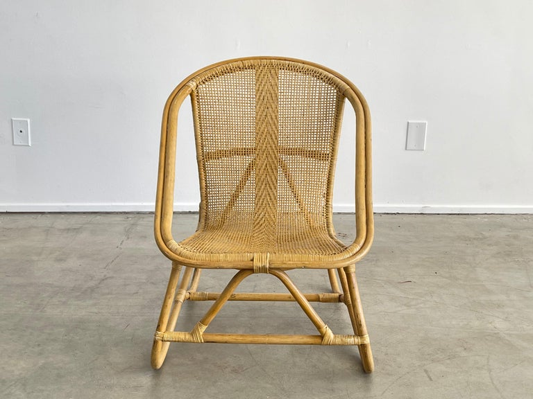 Italian Bamboo Chairs For Sale 3