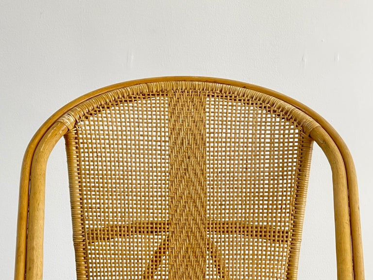 Italian Bamboo Chairs For Sale 4