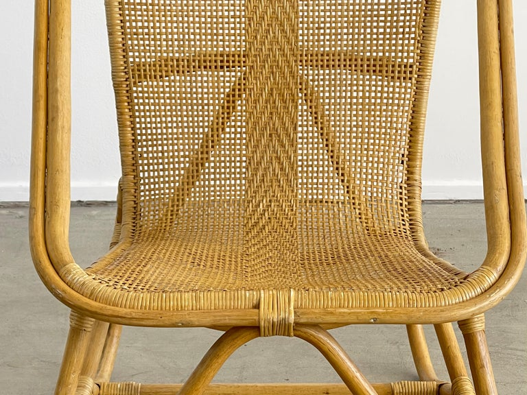 Italian Bamboo Chairs For Sale 5