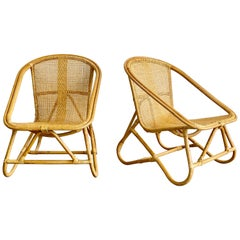 Italian Bamboo Chairs
