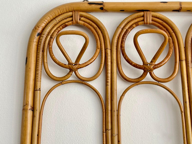 Italian Bamboo Coatrack In Good Condition For Sale In Los Angeles, CA
