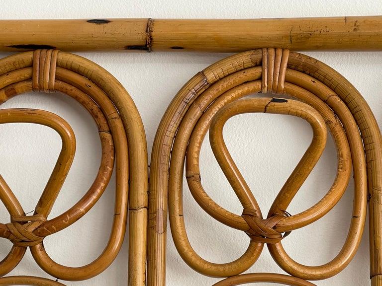 Mid-20th Century Italian Bamboo Coatrack For Sale