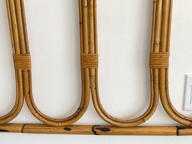 Italian Bamboo Coatrack For Sale 1