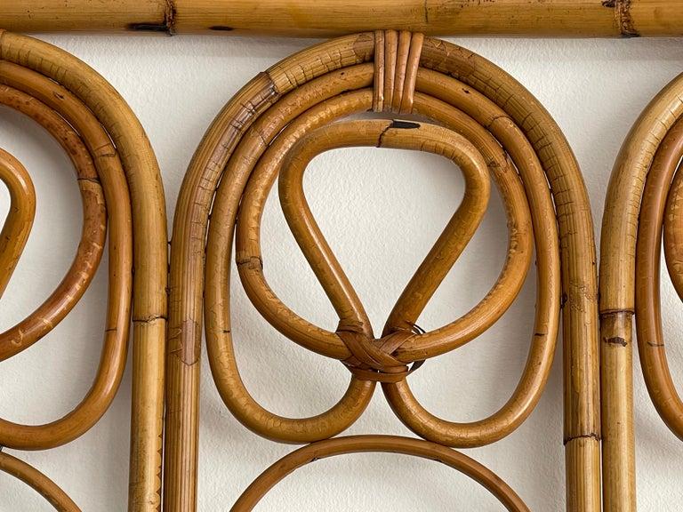 Italian Bamboo Coatrack For Sale 4