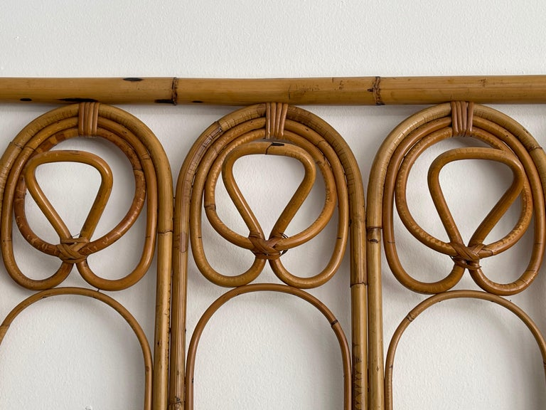 Italian Bamboo Coatrack For Sale 5