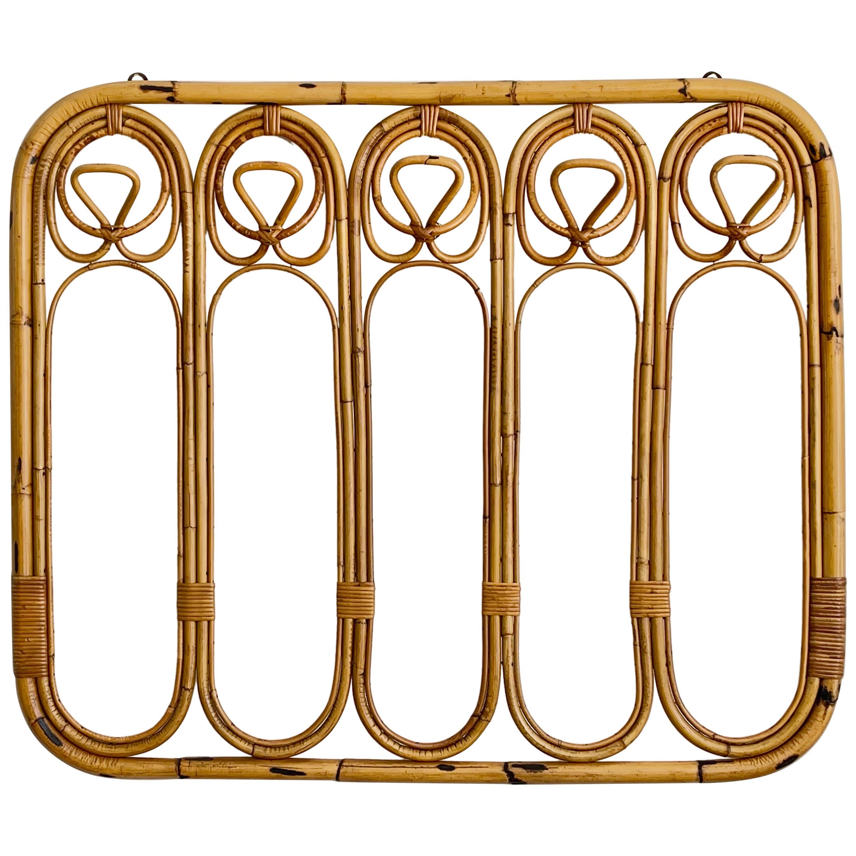 Italian Bamboo Coatrack