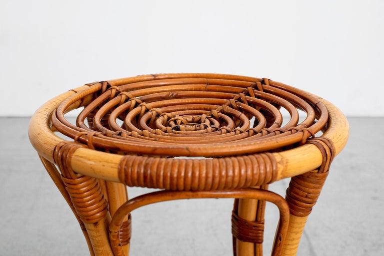 Italian Bamboo Stools For Sale 1