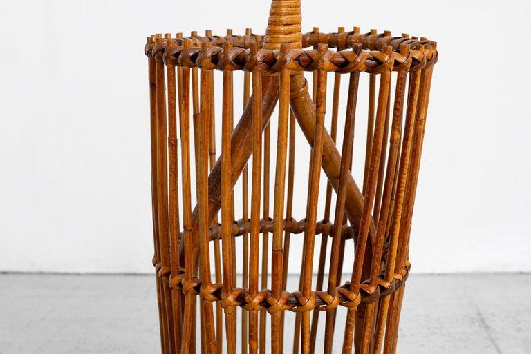 Italian Bamboo Umbrella Holder For Sale 3