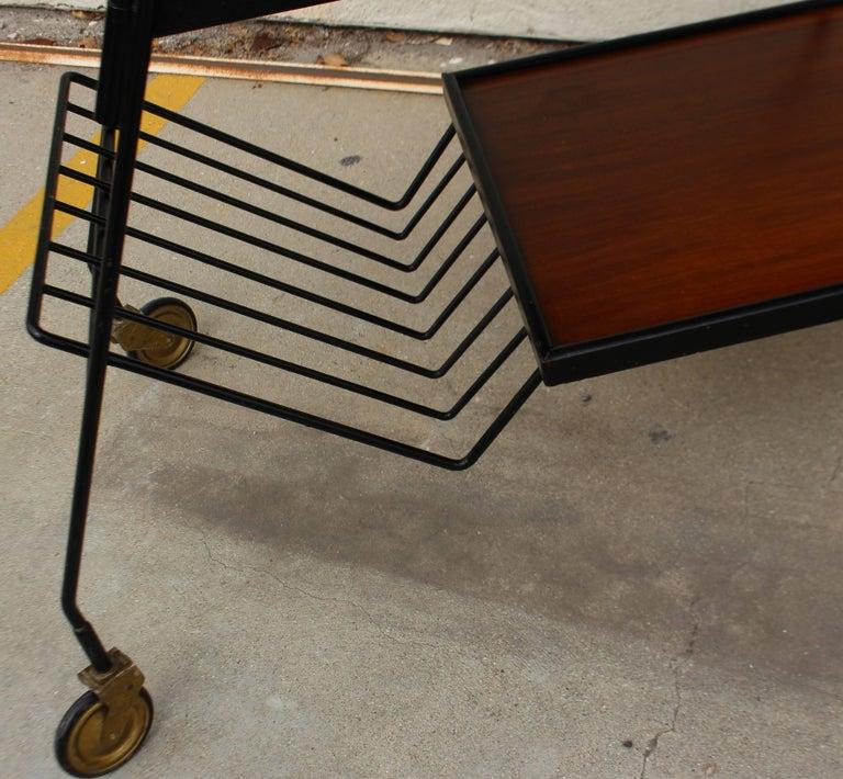 Mid-20th Century Italian Bar Cart For Sale