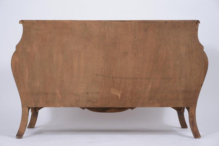 Italian Baroque Burl Dresser For Sale 6
