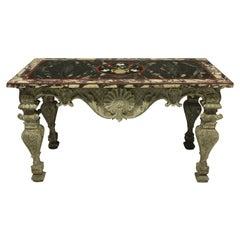 Baroque Center Tables