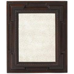 Italian Baroque Ebonized Walnut Mirror Frame