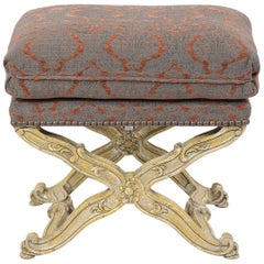 Italian Baroque Gilt Bench