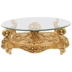Italian Baroque Style 20th Century Coffee Table