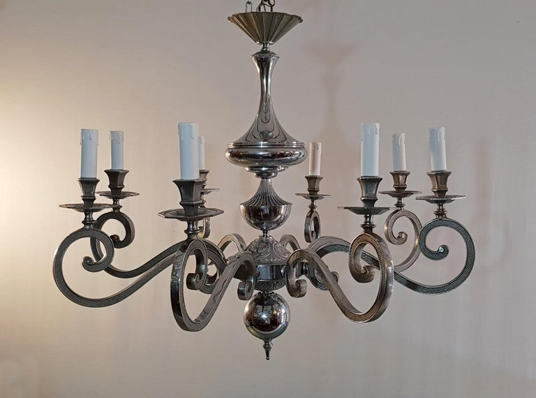 20th Century Italian Baroque Style Chandelier